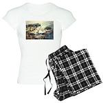 E75-TrellisBridge Women's Light Pajamas
