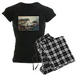 E75-TrellisBridge Women's Dark Pajamas