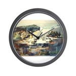 E75-TrellisBridge Wall Clock