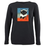 MP-Elsie-E63-cat Plus Size Long Sleeve Tee