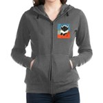 MP-Elsie-E63-cat Women's Zip Hoodie