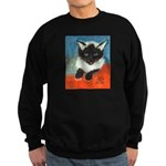 MP-Elsie-E63-cat Sweatshirt (dark)