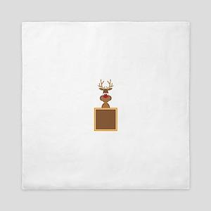 Rudolph Reindeer Queen Duvet