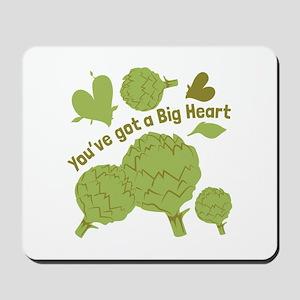 A Big Heart Mousepad