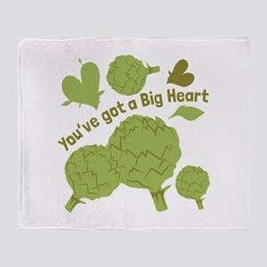 A Big Heart Throw Blanket