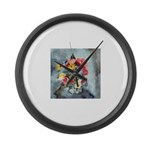 PILLOW-Elsie-BrightFlowers Large Wall Clock