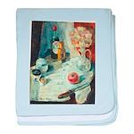 """Diary"" by Elsie Batzell baby blanket"