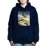 Rowboat-1st prize-=1750 Women's Hooded Sweatsh