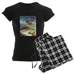 Rowboat-1st prize-=1750 Women's Dark Pajamas