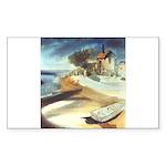 Rowboat-1st prize-=1750 Sticker (Rectangle 50