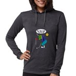 Be the ball (#2) Womens Hooded Shirt