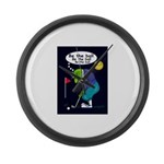 Be the ball (#2) Large Wall Clock