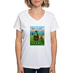 The Leader Women's V-Neck T-Shirt