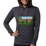Frustrated Golfers Womens Hooded Shirt