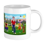 Frustrated Golfers 20 oz Ceramic Mega Mug