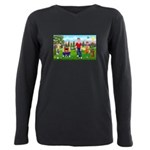 Frustrated Golfers Plus Size Long Sleeve Tee