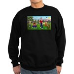 Frustrated Golfers Sweatshirt (dark)