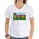 Frustrated Golfers Women's V-Neck T-Shirt