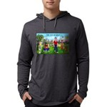 CUP-Cartoon Golfers-letters Mens Hooded Shirt