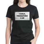 I GOLF-Blk on white Women's Classic T-Shirt
