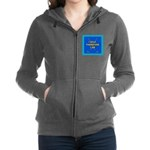 I GOLF-TURQ-Fancy1 Women's Zip Hoodie