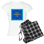 I GOLF-TURQ-Fancy1 Women's Light Pajamas