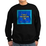 I GOLF-TURQ-Fancy1 Sweatshirt (dark)