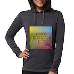 I GOLF-Gradient Womens Hooded Shirt