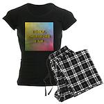 I GOLF-Gradient Women's Dark Pajamas