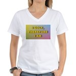 I GOLF-Gradient Women's V-Neck T-Shirt