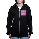 I GOLF-pink Women's Zip Hoodie