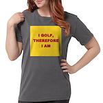 I GOLF-yellow-redletters Womens Comfort Colors