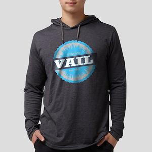 Vail Ski Resort Colorado Sky Blue Long Sleeve T-Sh