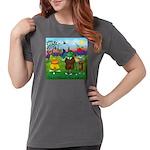 TILE-GolfingFROGS2 Womens Comfort Colors Shirt