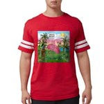 PILLOW-GolfingFLAMINGO2 Mens Football Shirt