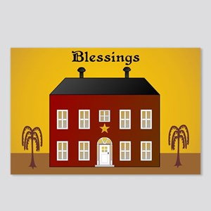 Folk Art Home Postcards (Package of 8)