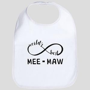 World's Best Meemaw Bib
