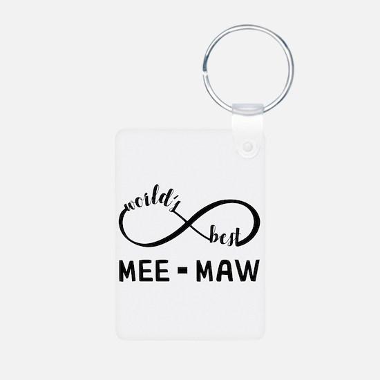 World's Best Meemaw Keychains