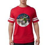R-XmasMagic-GuineaPig2 Mens Football Shirt
