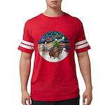 R-XmasMagic-GuineaPig3 Mens Football Shirt