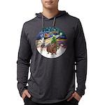 R-XmasMagic-GuineaPig3 Mens Hooded Shirt