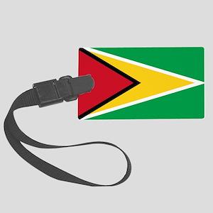 Guyana Flag Luggage Tag