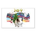 R-XmasMusic1-GuineaPig1 Sticker (Rectangle 50