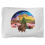 R-XmasMusic2-GuineaPig3 Pillow Sham