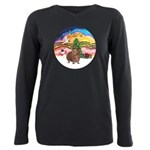 R-XmasMusic2-GuineaPig3 Plus Size Long Sleeve
