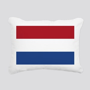 Holland Flag Rectangular Canvas Pillow