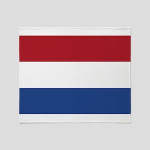 Holland Flag Throw Blanket