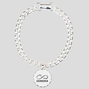 Fun Gift For Grandma - I Charm Bracelet, One Charm