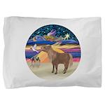 R-XmasStar-ShetlandPony Pillow Sham