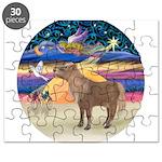 R-XmasStar-ShetlandPony Puzzle